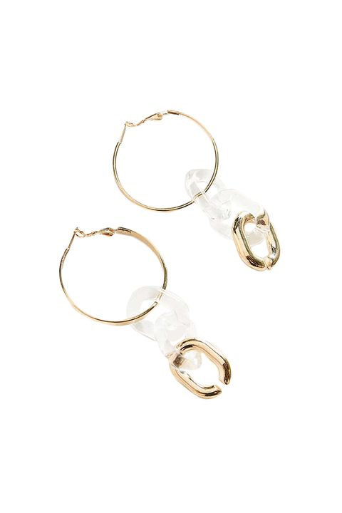 Fashion accessory, Jewellery, Body jewelry, Metal, Earrings, Circle, Silver, Brass,