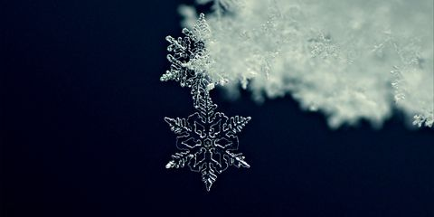 Snowflake, Winter, Freezing, Water, Frost, Snow, Sky, Photography, Macro photography, Darkness,