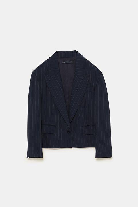 Clothing, Outerwear, Blazer, Jacket, Suit, Sleeve, Formal wear, Tuxedo, Top, Collar,