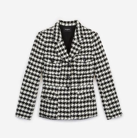 the kooples tweed jacket check houndstooth