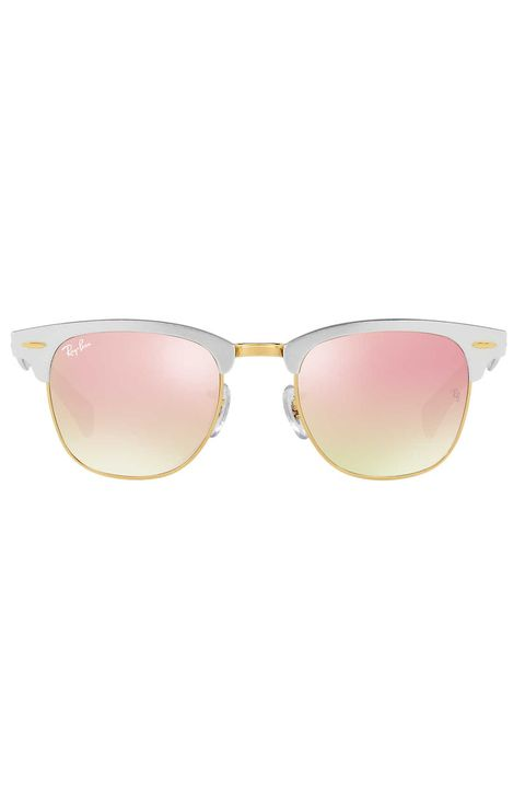 Eyewear, Sunglasses, Glasses, Pink, Personal protective equipment, Yellow, Vision care, Transparent material, aviator sunglass, Goggles,