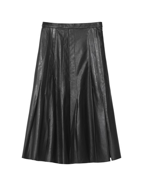 Clothing, Black, Fashion, A-line, Leather, Satin, Textile, Skort, Waist,