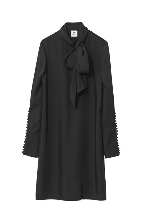 Clothing, Black, Outerwear, Sleeve, Coat, Collar, Overcoat, Blouse, Button, Trench coat,