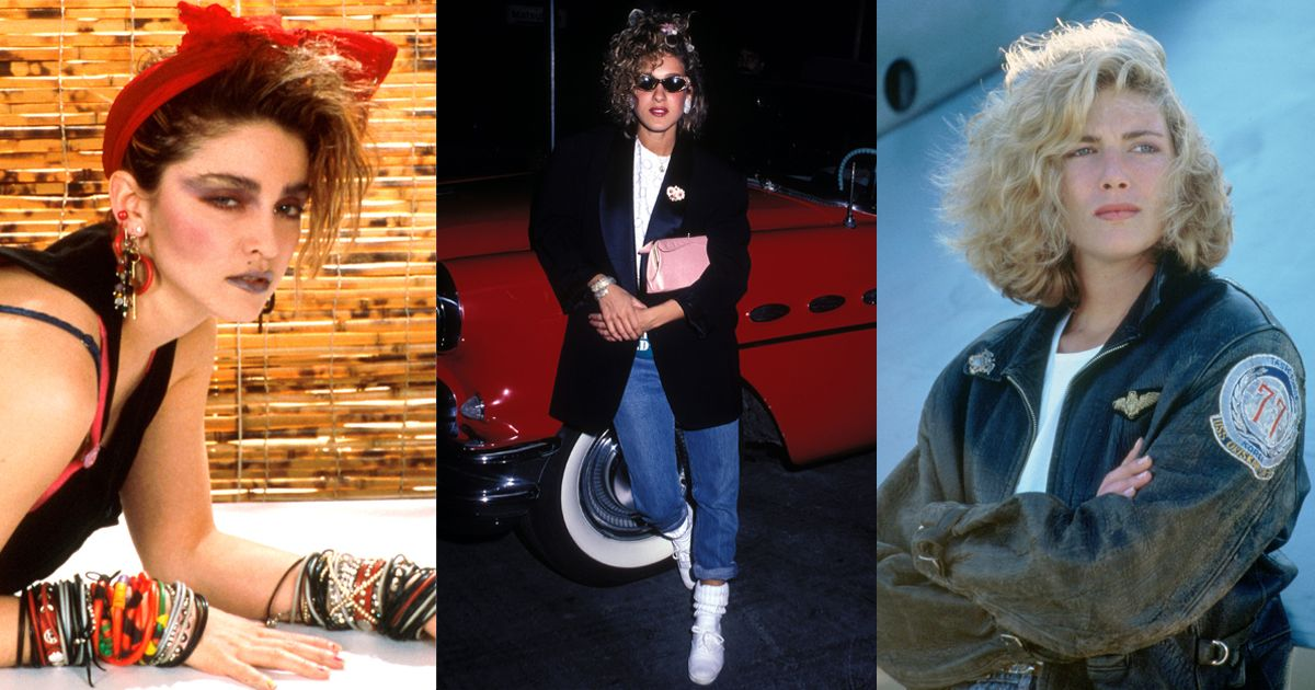 80s fashion - best outfits from celebrities and models to on-screen icons