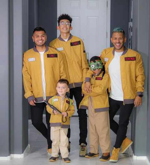 family ghostbusters costume