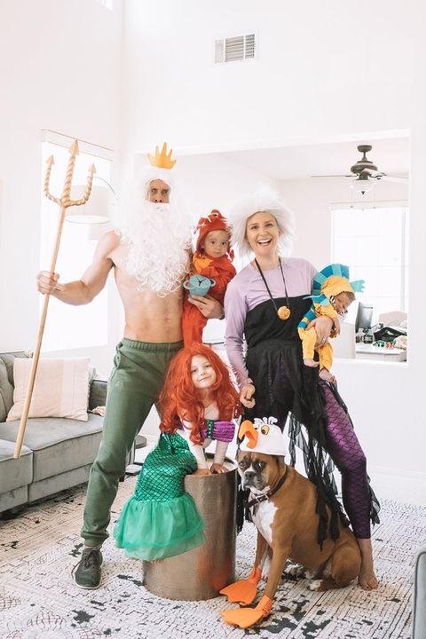 little mermaid family costume