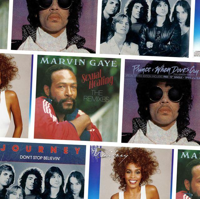 '80s songs album cover medley