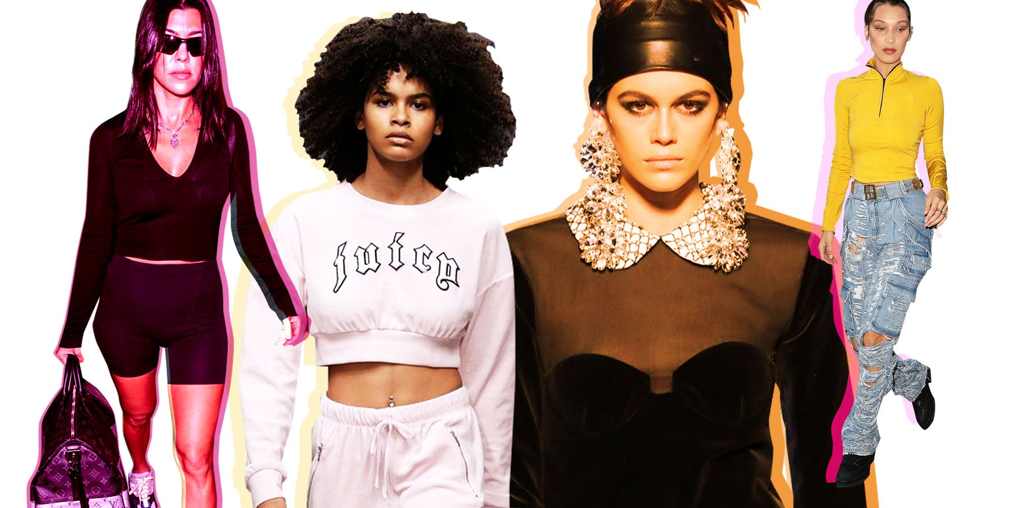 Fashion Trends 80's Female