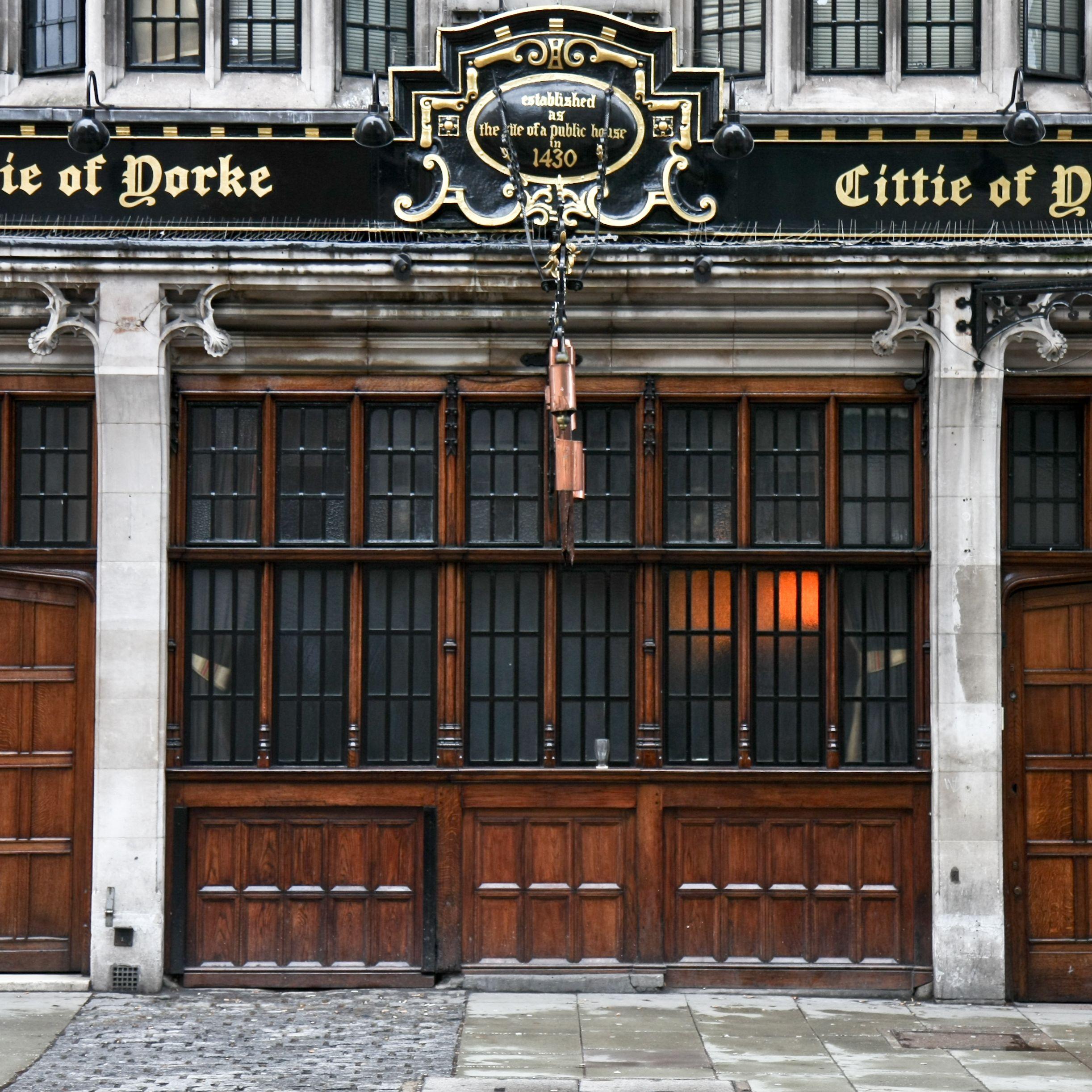 Cittie of yorke pub