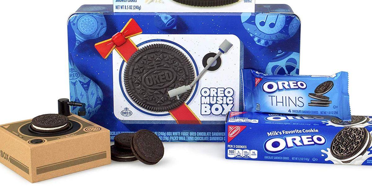 This Oreo Music Box Plays Oreos Oreo Gifts