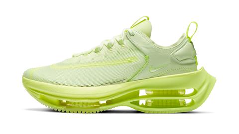 nike air zoom double stacked螢光黃雙層氣墊球鞋