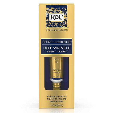 Roc Retinol Correxion Crema de noche antiedad con retinol para arrugas profundas
