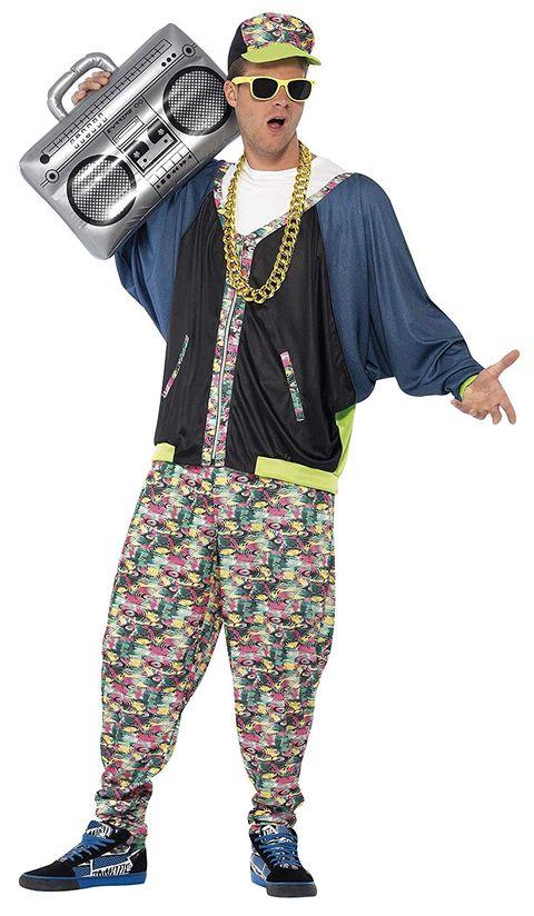 Clothing, Costume, Fashion, Costume design, Outerwear, Hippie, Eyewear, Fashion illustration, Trousers, Style,