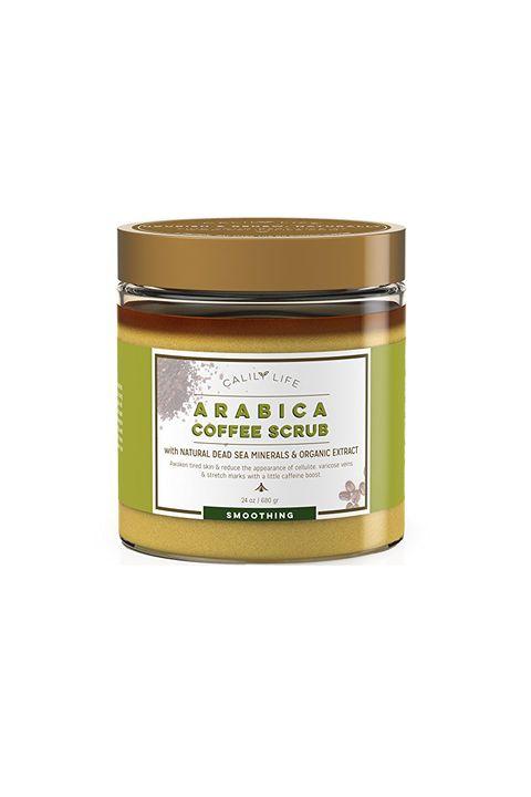 Calily Life Organic Arabica Coffee Scrub with Dead Sea Minerals