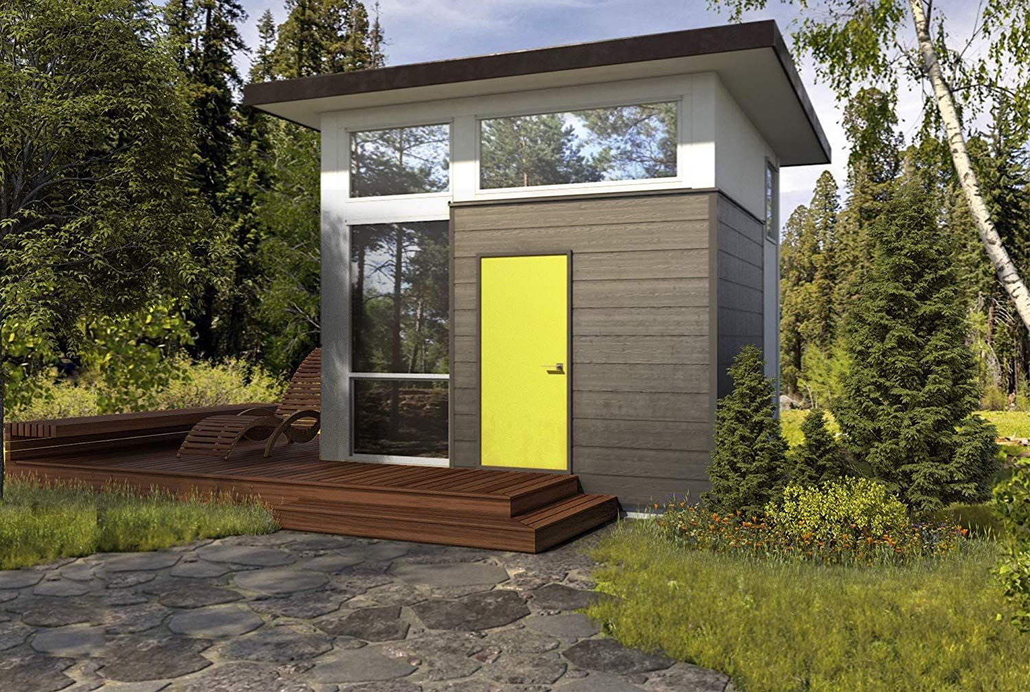 Amazon Is Now Selling A Tiny Home 'Cube' That's The Minimalist Getaway Of Your Dreams
