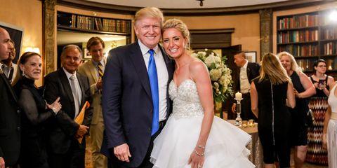 Donald Trump Wedding at Trump National Golf Club Bedminster