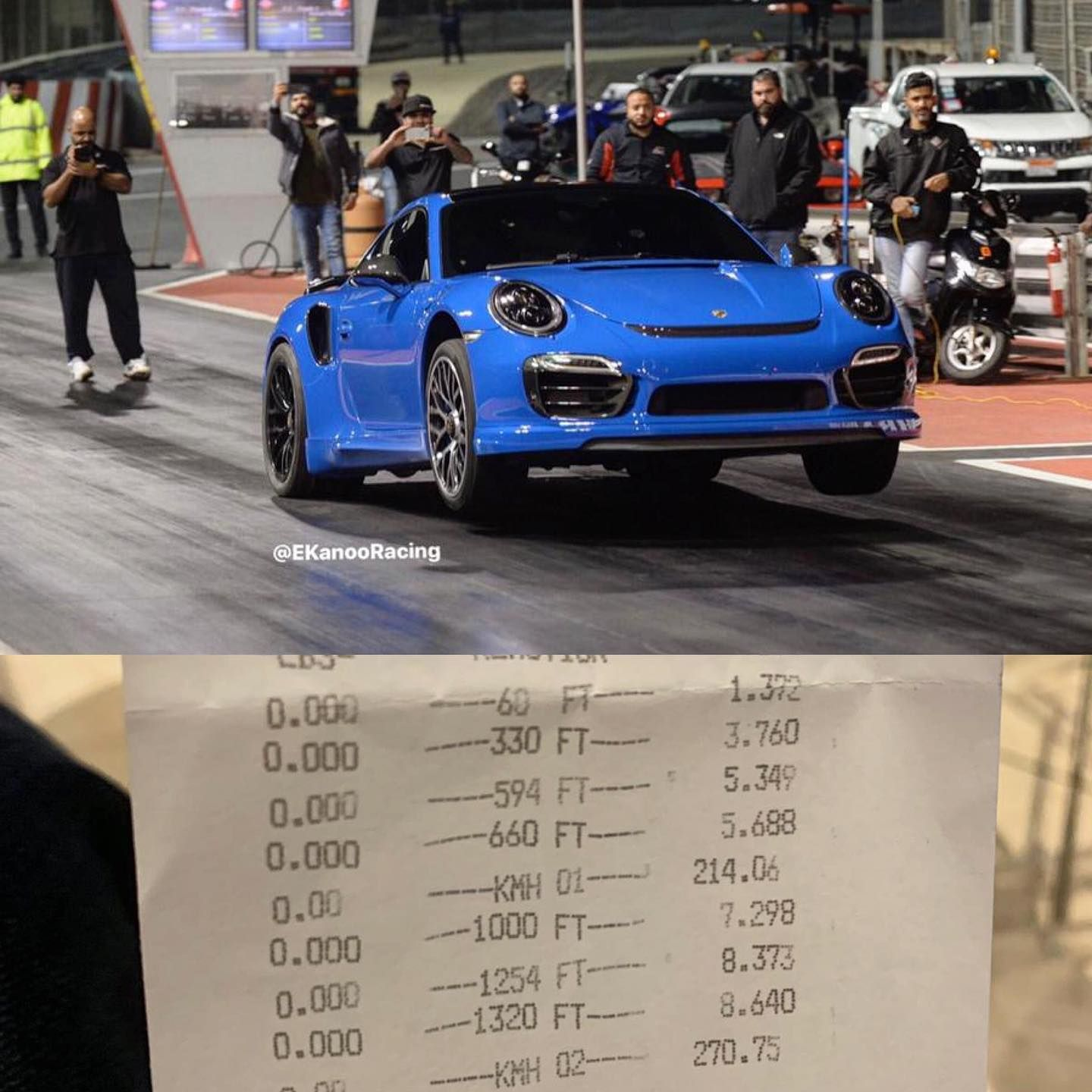 Watch This Porsche 911 Turbo Pull Wheelies at the Drag Strip