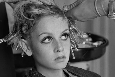 twiggy, sixties fashion, 60s fashion, 1960s, hair, highlight, hairstyle, london, model