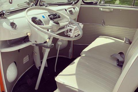 vw microbus driver's seat
