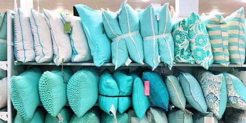 Blue, Turquoise, Green, Aqua, Turquoise, Textile, Room, Linens, Clothes hanger,