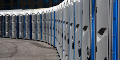 Twin Cities Marathon is raffling away private porta-potties.