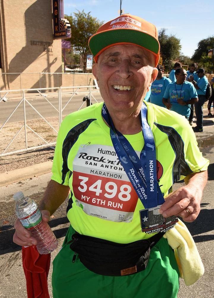 85-Year-Old Beats Cancer, Finishes Fifth Marathon—and Cross-Trains With Some Zumba