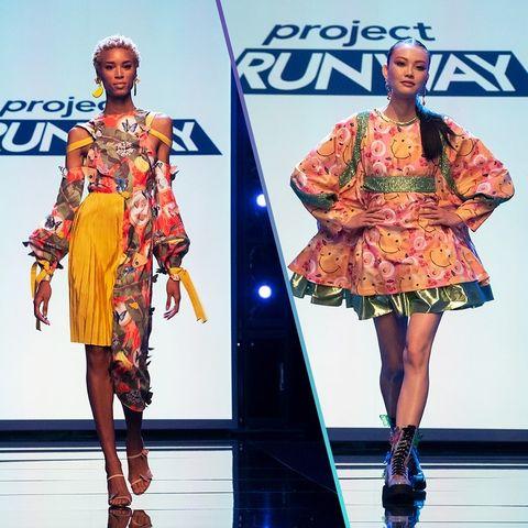 Heidi Klum Project Runway Tyra Banks Fashion Reality Tv Insists On Making It Work