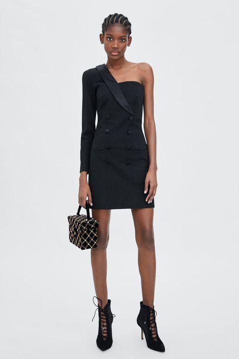 más popular seleccione para auténtico disponible Zara tiene el vestido negro ideal (por menos de 30 euros ...