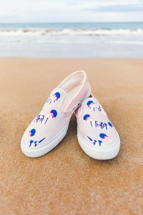 Footwear, Shoe, Blue, Plimsoll shoe, Sand, Espadrille, Outdoor shoe, Sneakers,