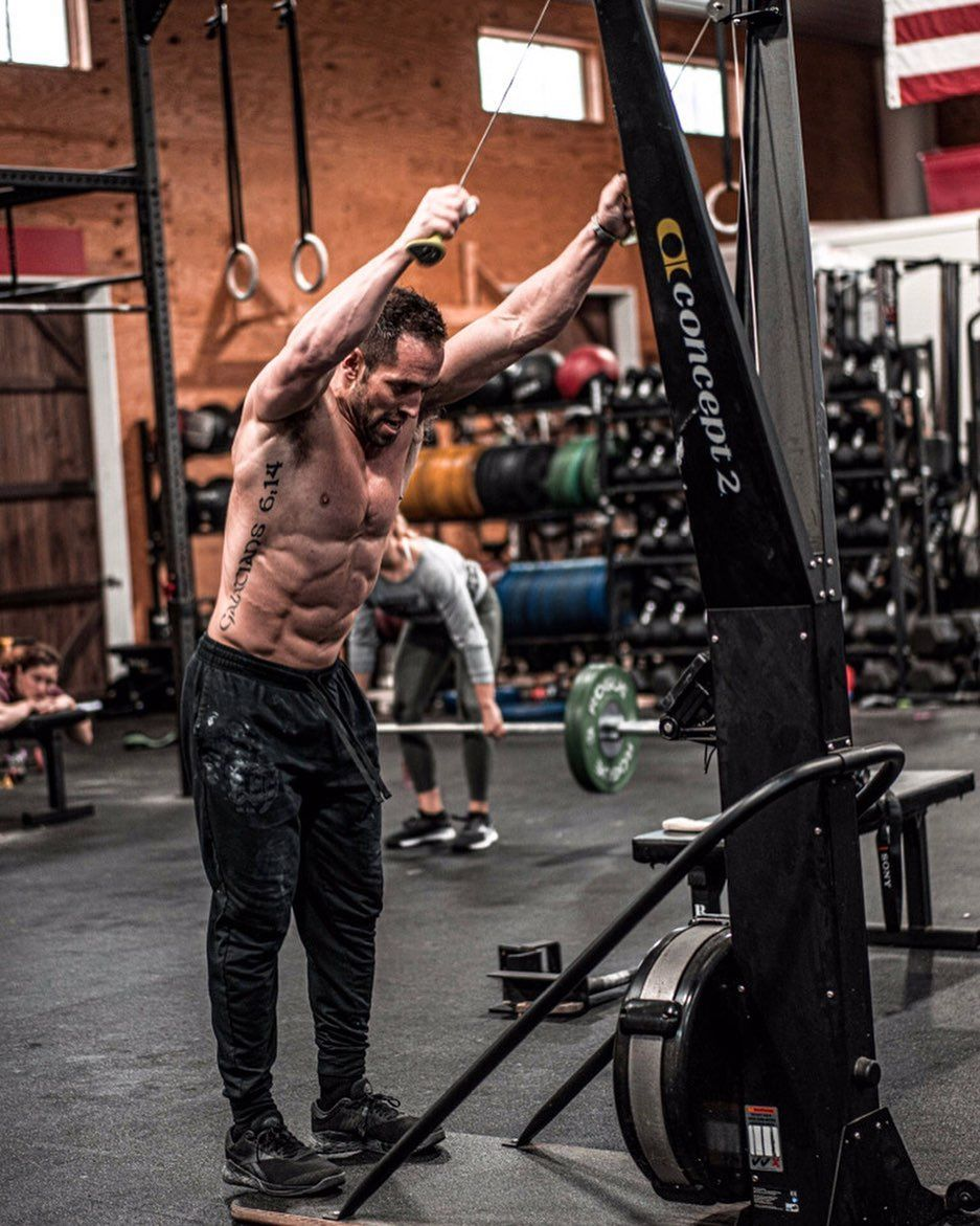 We Asked Rich Froning, The 'Fittest Man in History', for a Workout He Uses to Get Competition Ready