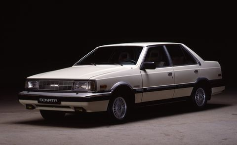 1986 Hyundai Sonata