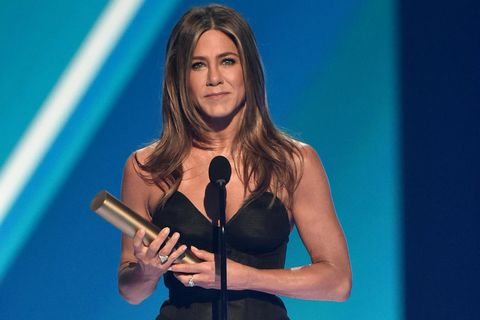 Jennifer Aniston se acuerda de sus 'Friends' en su último premio