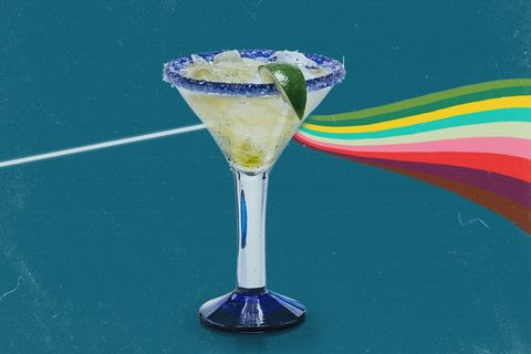 Martini glass, Drink, Stemware, Margarita, Cocktail garnish, Martini, Alcoholic beverage, Non-alcoholic beverage, Cocktail, Curaçao,
