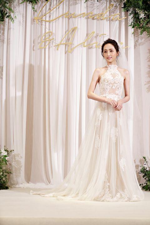 坤達柯佳嬿大婚透視蕾絲裝婚紗美炸!尺度超開「準備今晚就懷孕」