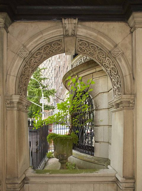 Arch, Architecture, Building, Iron, Tree, Door, Arcade, Column, Plant, Medieval architecture,