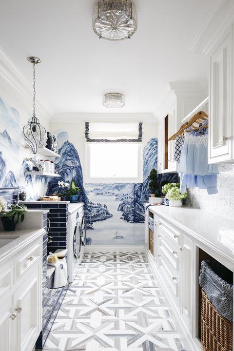 Marble Flooring Pattern Bedroom