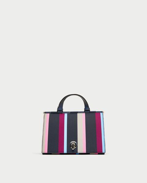 Handbag, Bag, Tote bag, Pink, Fashion accessory, Shoulder bag, Magenta, Design, Material property, Pattern,