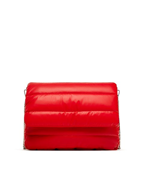 Red, Wallet, Leather, Bag, Coin purse, Fashion accessory, Material property, Handbag, Rectangle,
