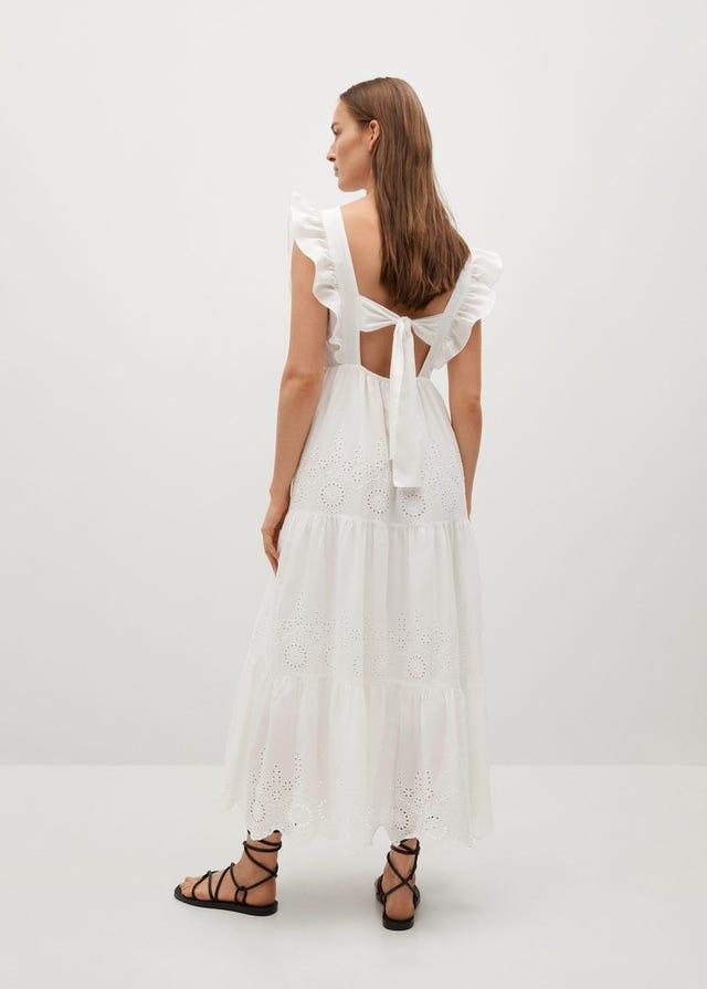 vestido blanco verano tendencias