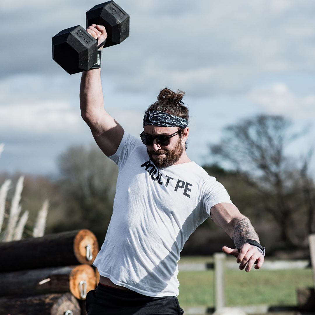 How Fast Can You Finish Our 330-Rep Full-Body Dumbbell Challenge ?
