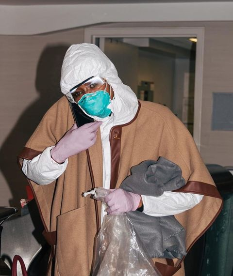 Surgeon, Room, Costume,