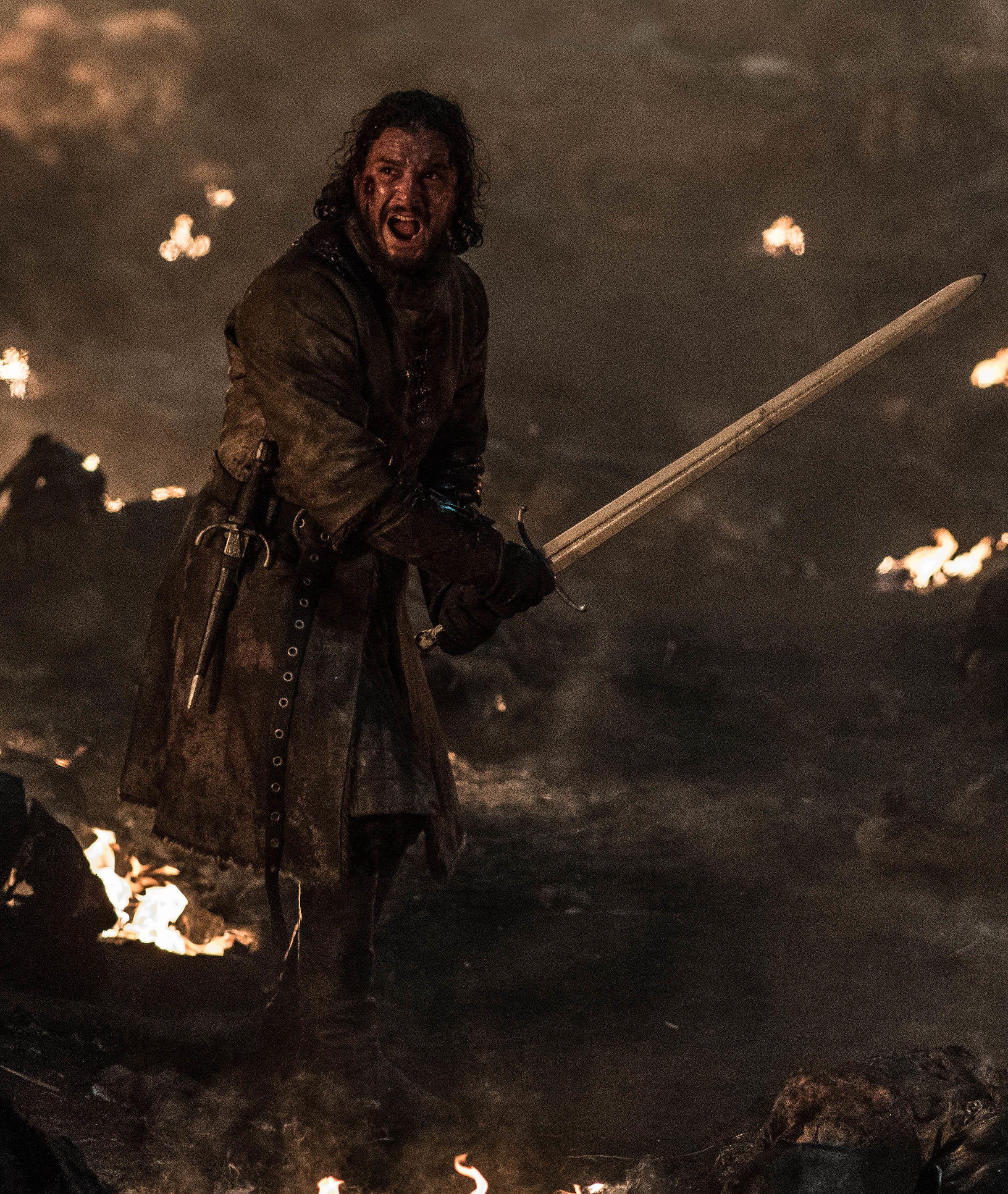 arya kills the night king