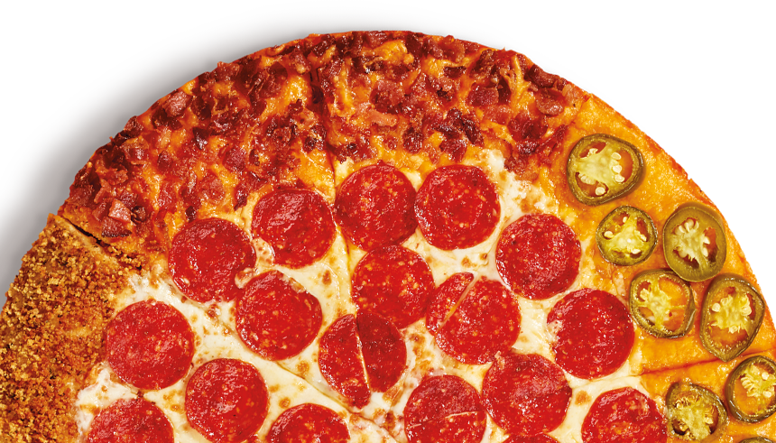 Little Caesars Is Testing A Pepperoni Pizza That Has Four Different Crust Flavors