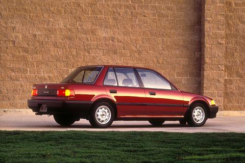 1988 honda civic lx sedan