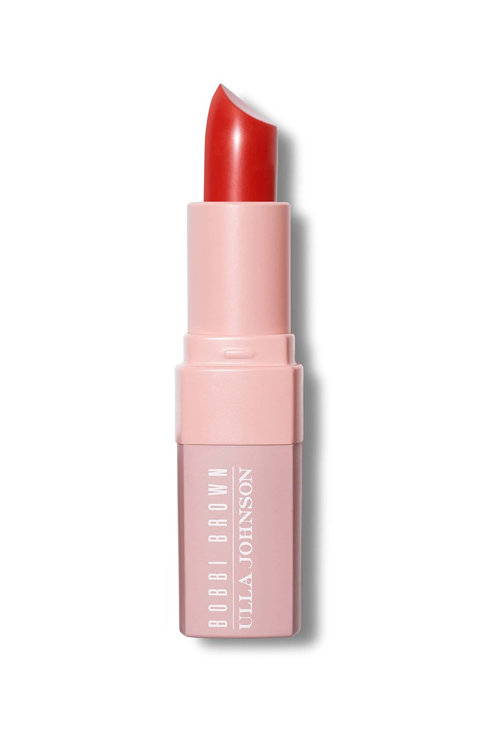 Orangey Red Bobbi Brown X Ulla Johnson Crushed Lip Color in Lou Lou, $29 SHOP IT When bright orange and red tones collide, it creates a beautiful color story, reminiscent of a spring sunset. This leaves a bold wash of color on your lips.