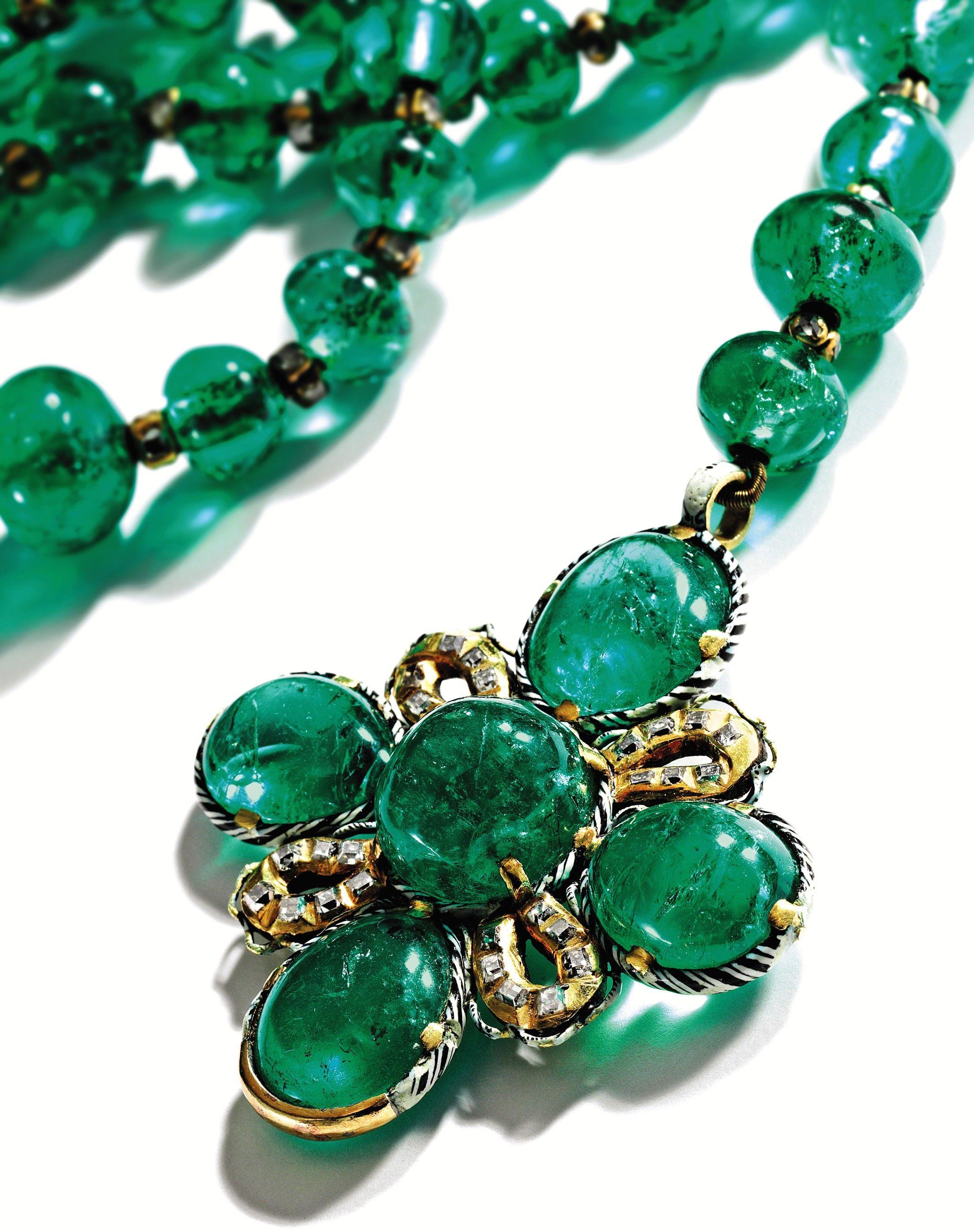 17th century, emerald, rosary