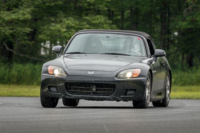honda s2000 on track