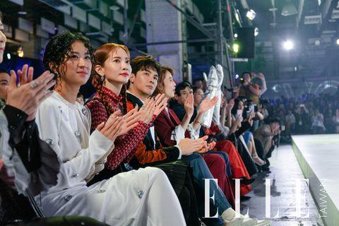 【臺北時裝週】黑人范范、邱澤、Selina等名人出席台北時裝週歡迎晚會
