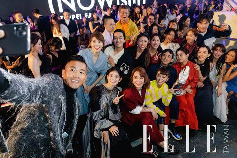 【ELLEX臺北時裝週】陳建州、范瑋琪、Selina、黃子佼等眾多明星出席歡迎晚會
