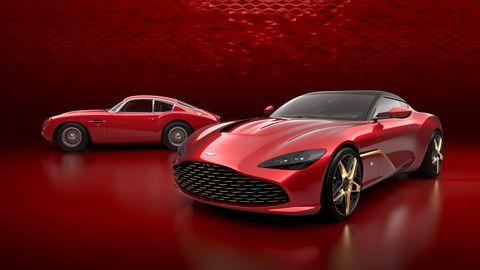 Aston Martin DBS GT Zagato and Aston Martin DB4 GT Zagato